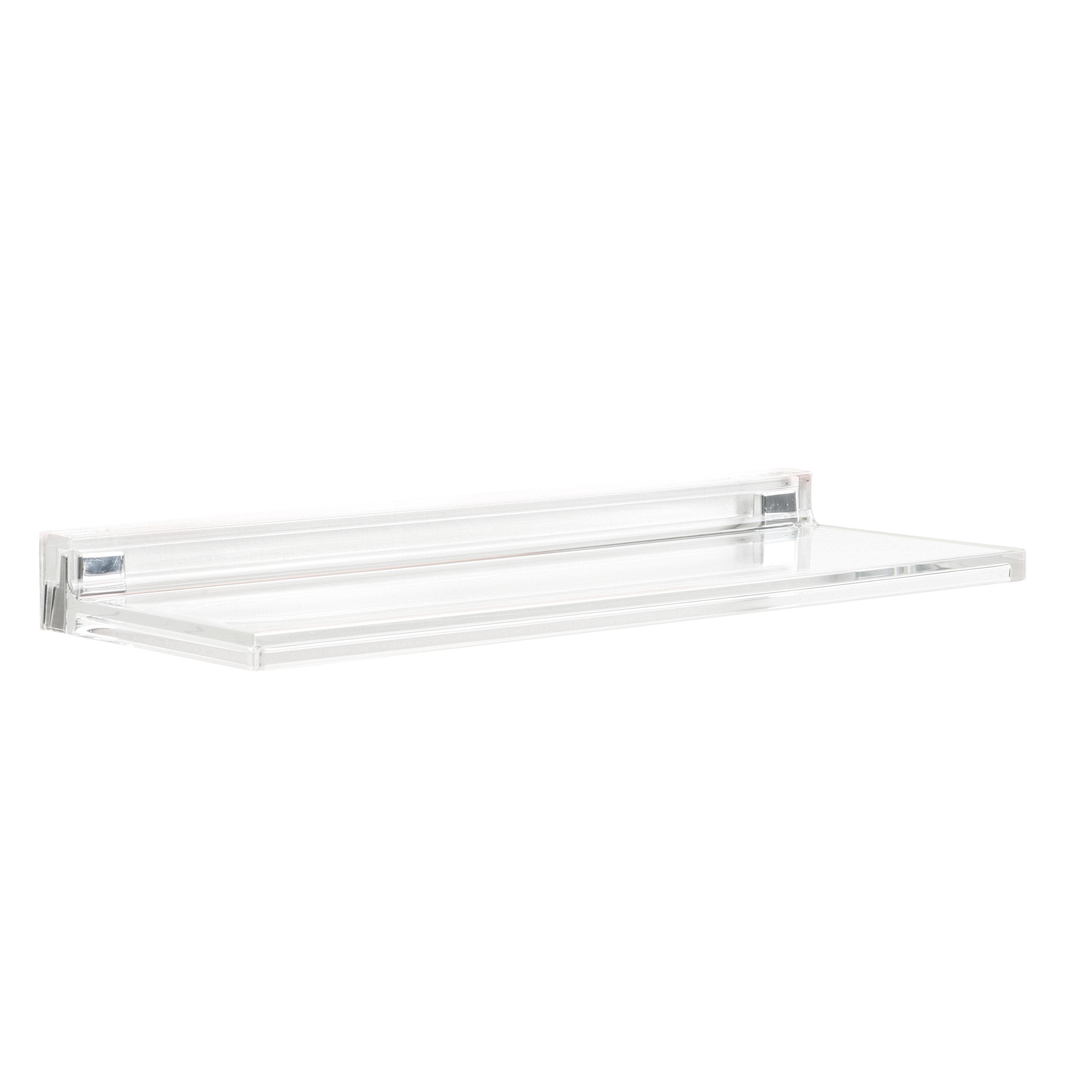 Kartell Floating Shelf With Adjustable Shelves Reviews Wayfair