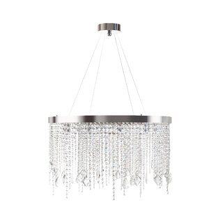Delphine 10-Light Crystal Chandelier by E..