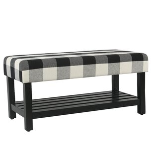 Gracie Oaks Prudhomme Decorative Upholstered Storage Bench