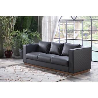 Red Barrel Studio Dezirae 90 5 Rolled Arm Sofa Bed Wayfair