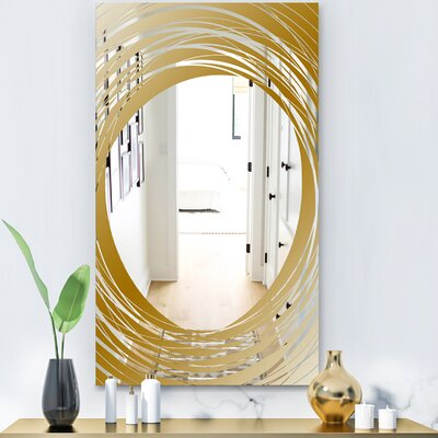 Capital Essential Decorative Glam Frameless Bathroom Mirror East Urban Home Size 474 H X 275 W