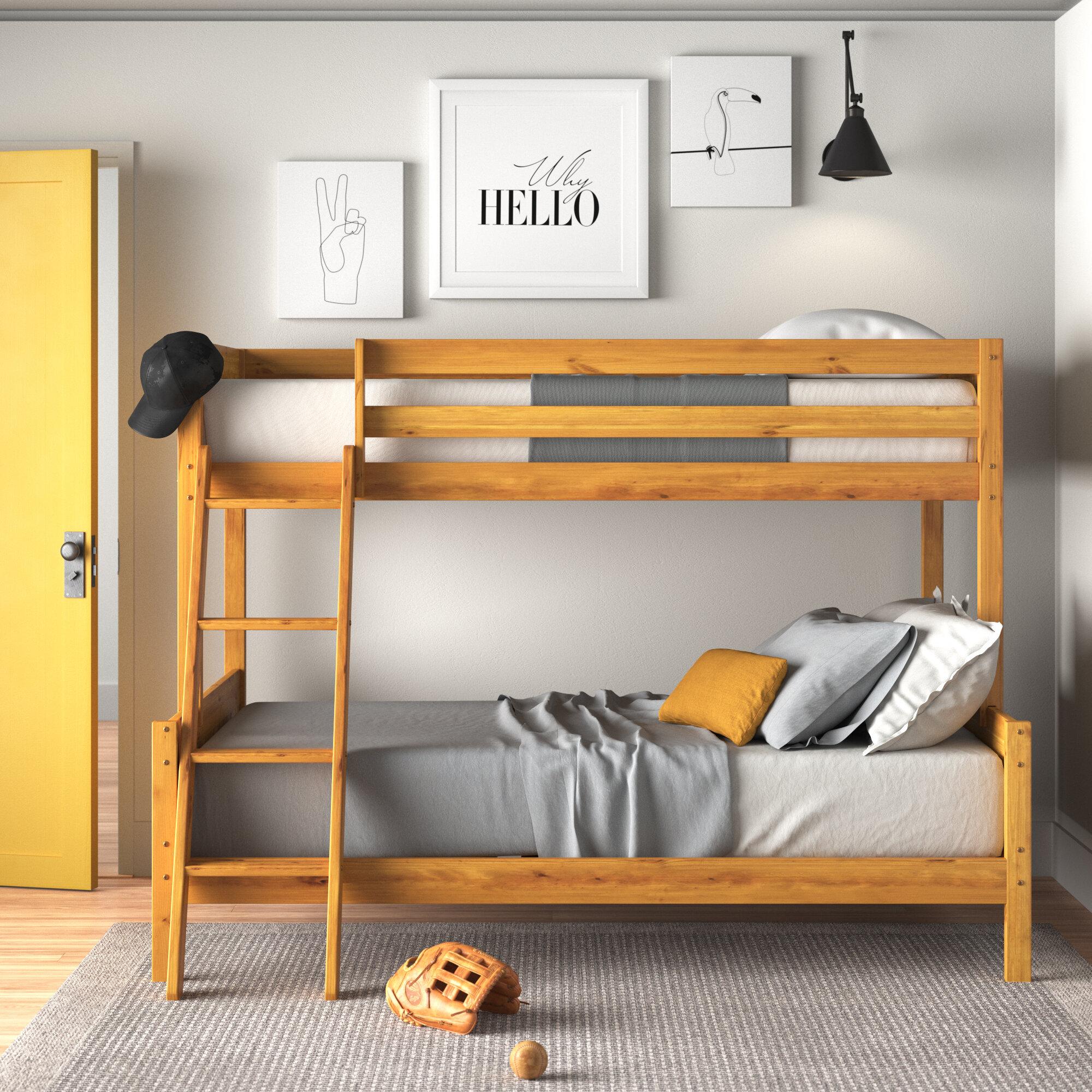 Zipcode Design Jamie Bunk Bed Reviews Wayfair Co Uk