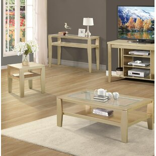 Lucey 3 Piece Coffee Table Set by Ebern Designs