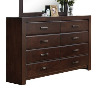 Schiffman 8 Drawer Double Dresser