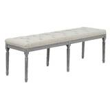 Colin Upholstered Bench by One Allium Way