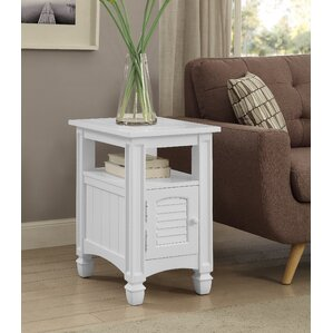 Kathleen End Table With Storage by Breakwater Bay