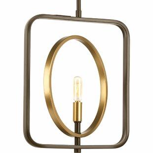 Dearborn 1-Light Geometric..