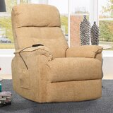 Huie Faux Leather Power Lift Assist Recliner by Red Barrel Studio®