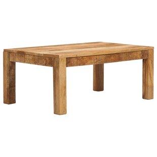Koa Solid Mango Wood Coffee Table By Union Rustic
