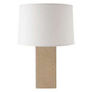 Eowyn Linen Textured 25 Table Lamp