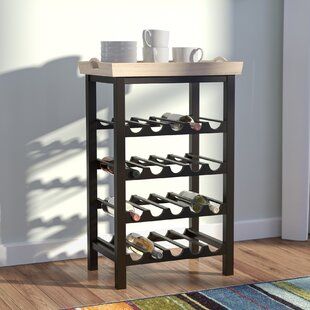 Red Barrel Studio Eberhart 20 Bottle Floor Wine Rack