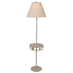 Highland dunes floor lamps youll love wayfair imler drink table tray 585 floor lamp aloadofball Choice Image