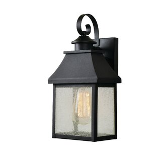 Keaton 1-Light Outdoor Wall Lantern by Charlton Home