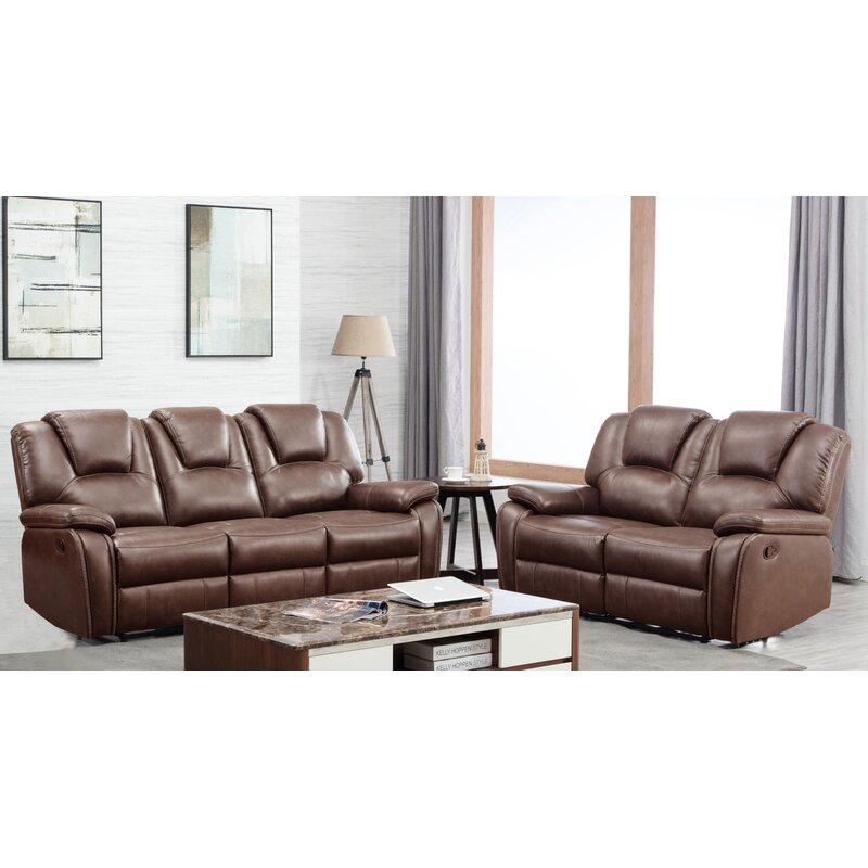 Latitude Run® Joseline 2 Piece Reclining Living Room Set & Reviews