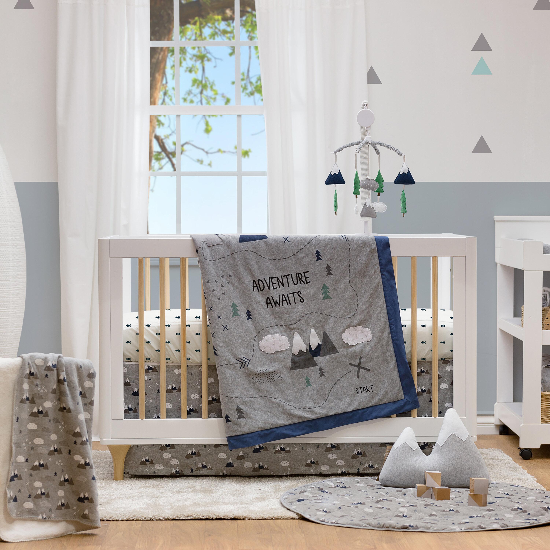 Lolli Living Peaks 4 Piece Crib Bedding
