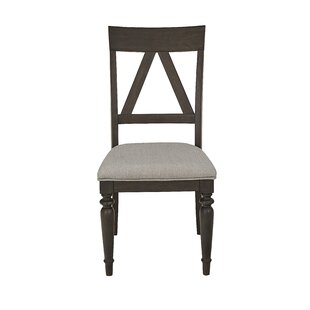 Jimena Solid Wood Dining Chair (Set of 2) Gracie Oaks