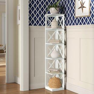 Stoneford Corner Unit Bookcase by Beachcrest Home