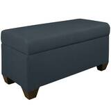 Chambers Upholstered Storage Bench by Skyline Furniture
