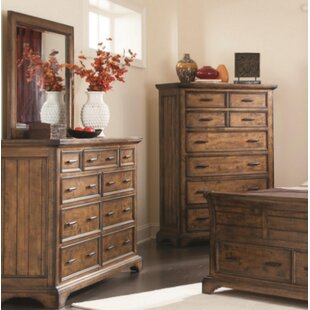 Canora Grey Baye 9 Drawer Dresser with Mirror