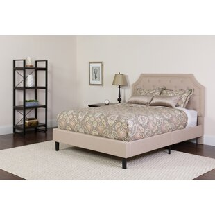Porath Tufted Upholstered Platform Bed by Charlton Home Coupon
