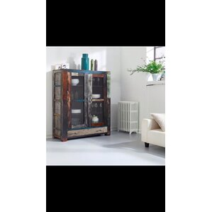 Dorida Glass China Cabinet by Loon Peak
