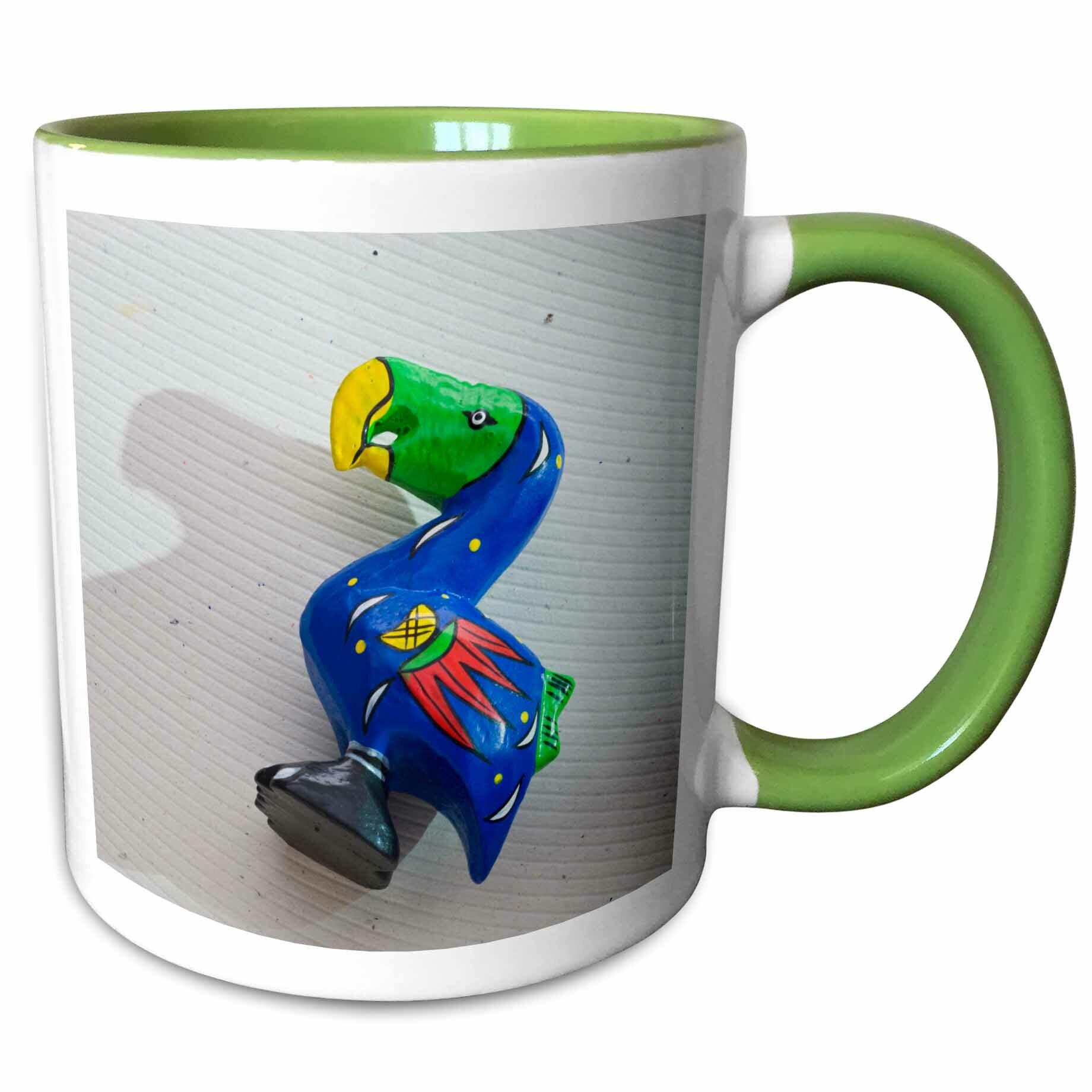 East Urban Home Breen Mauritius Port Louis Wooden Dodo Bird Toy Craft Coffee Mug Wayfair