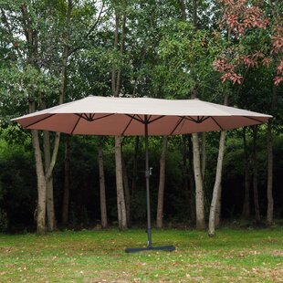 Alcott Hill Wymore 8.85' x 15' Rectangular Market Umbrella