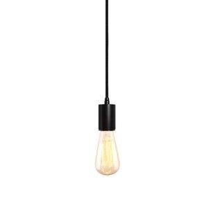Gents 1-Light Bulb Pendant..
