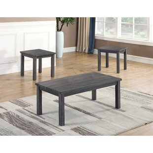 Rushville 3 Piece Coffee Table Set