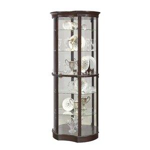 Beron Lighted Curio Cabinet by Astoria Grand