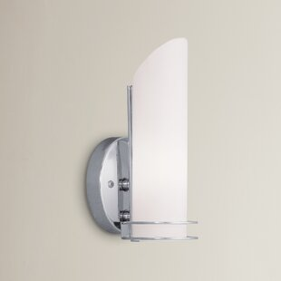 Tim 1-Light Bath Sconce by Wade Logan
