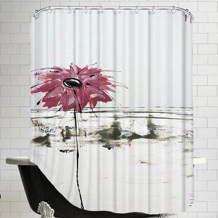 Fleur Rose 1 Shower Curtain