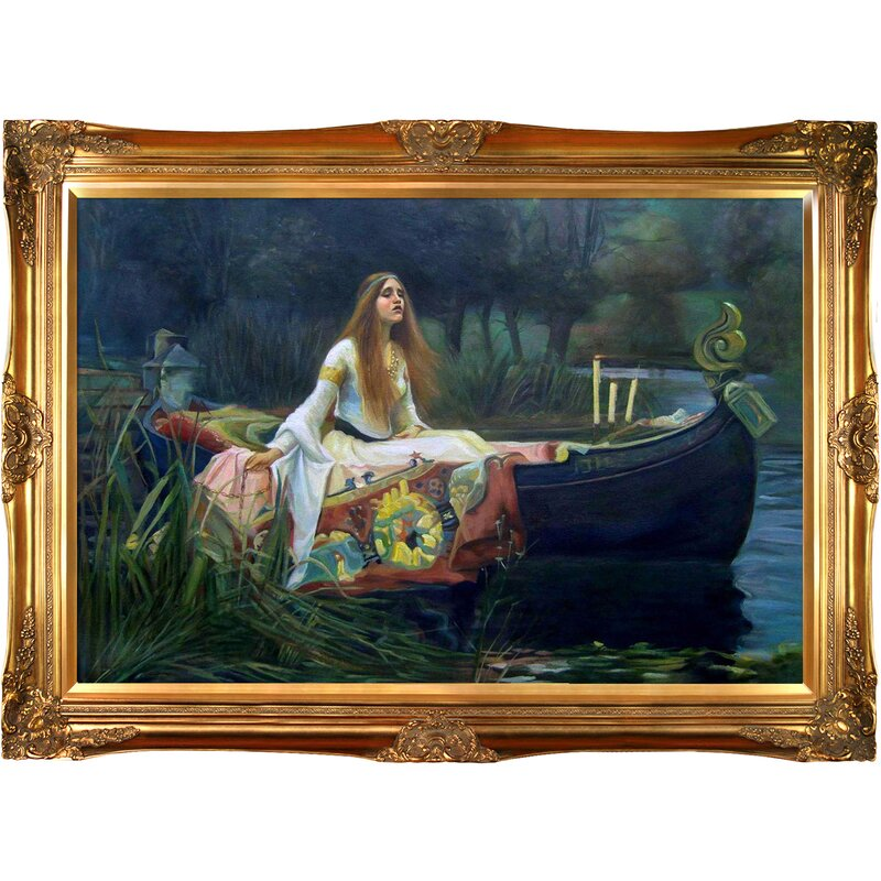 Tori Home \'The Lady of Shalott\' by John William Waterhouse Framed ...