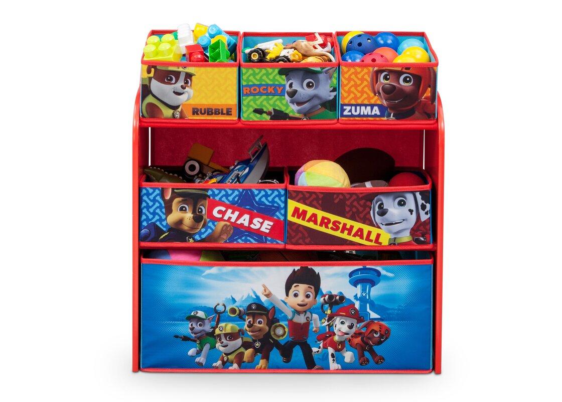 Delta Children Nick Jr. PAW Patrol Toy Organizer & Reviews   Wayfair