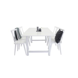 Review Lars Dining Set With 6 Chairs