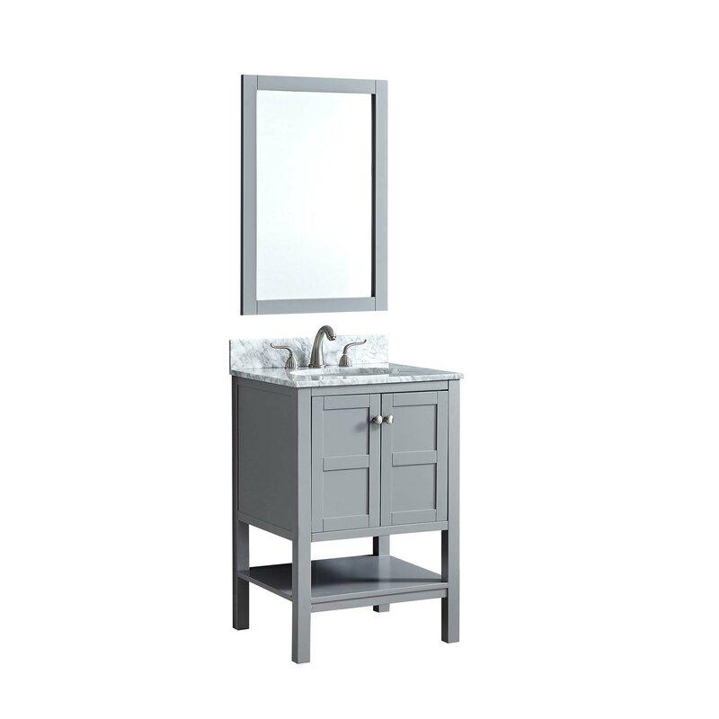 Andover Mills Waithman 24 Single Bathroom Vanity Reviews Wayfair