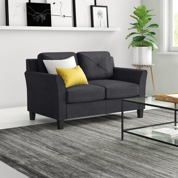 Strange Small Corner Loveseat Wayfair Andrewgaddart Wooden Chair Designs For Living Room Andrewgaddartcom