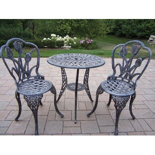 aaad134b26a8b 3 Piece Cast Iron Bistro Set