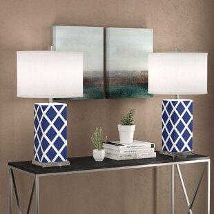 Grovelane Teen Baret Table Lamp Set (Set of 2)