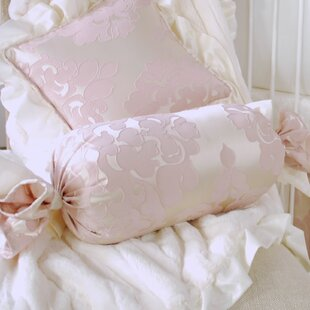 Blush Petal Bolster Pillow