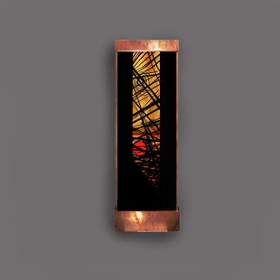 Harvey Gallery Copper and Acrylic Nexus Galaxy Fountain with Light