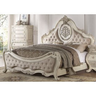 Stultz Upholstered Panel Bed