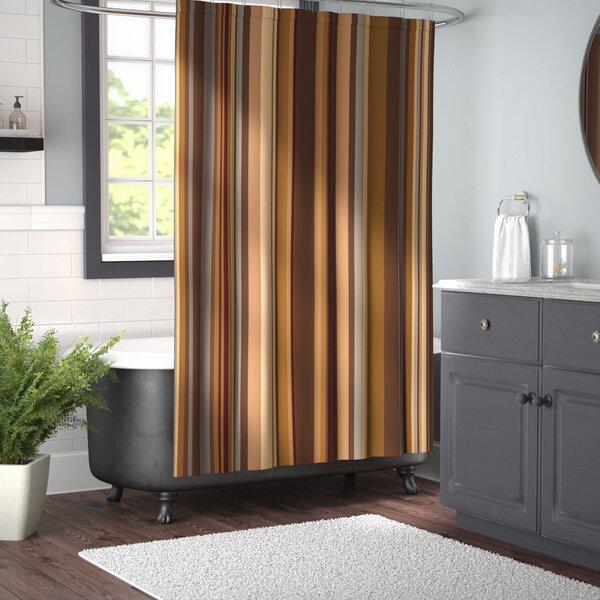 Earth Tones Shower Curtain | Wayfair
