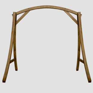 Bayou Breeze Hammons Teak Porch Swing with Stand