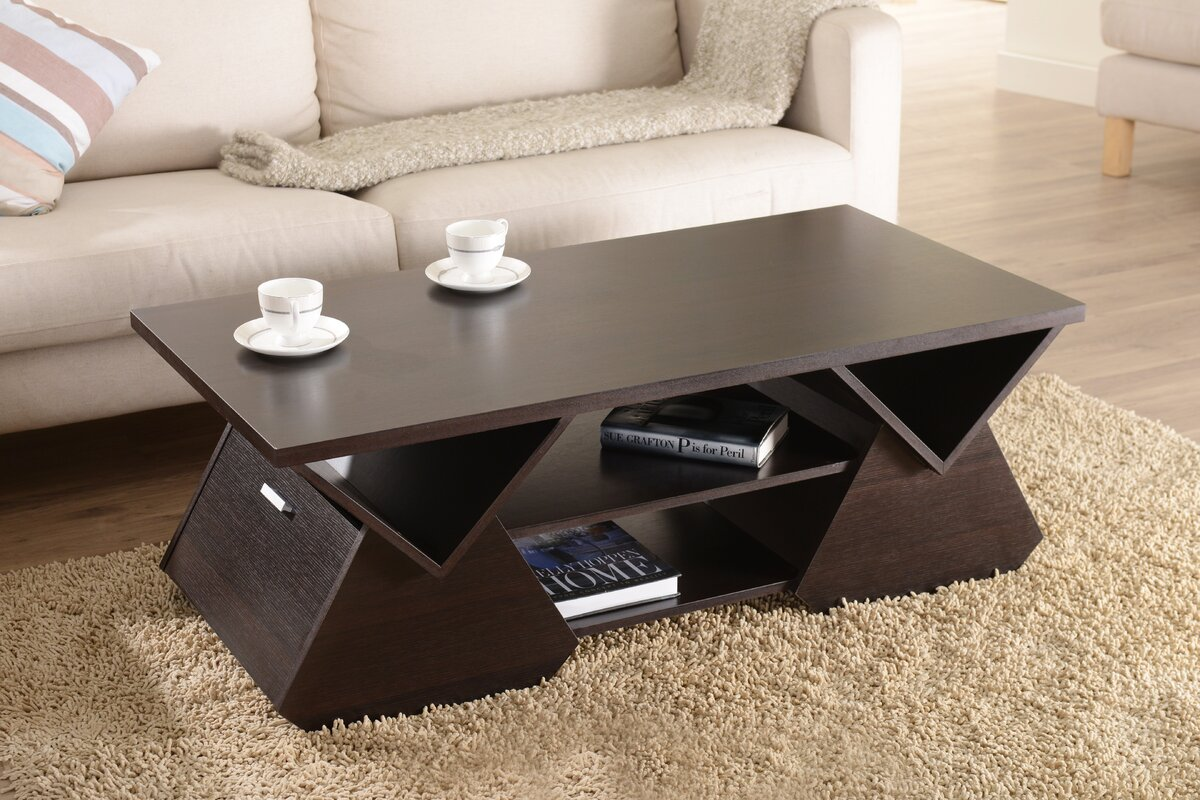 hokku designs delilah coffee table  reviews  wayfair - defaultname