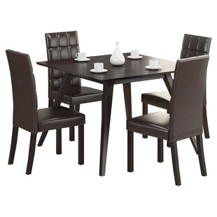 Jodie 5 Piece Dining Set Ivy Bronx