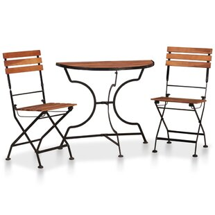 Review Bartee 2 Seater Bistro Set