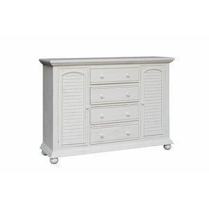 Laguna High 4 Drawer Dresser by Rosecl..