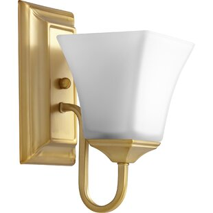 Price Check 1-Light Wall Sconce By Quorum