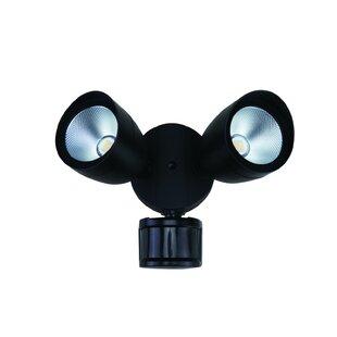 20-Watt LED Outdoor Security Flood Light with Motion Sensor